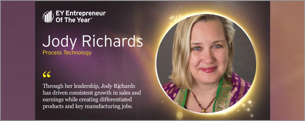 Jody Richards wins entrepreneur Of the year® award