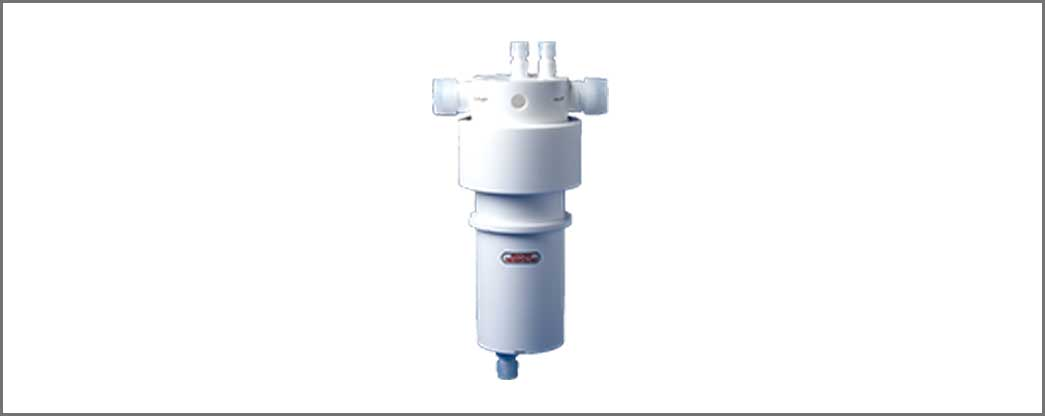 Reusable Filter Housing for High Temperature Chemicals!
