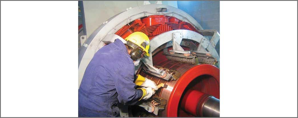 Turbine Repairs Call for Selective Brush Plating Solution