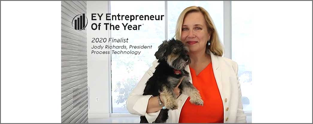 Process Technology President, Jody Richards, nominated for Entrepreneur Of The Year® 2020 East Central Award